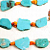 Concho Belt, Copper Ovals with Turquoise & Coral