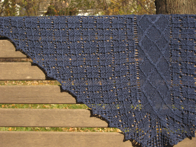 Digital PDF Pattern: Inveraray Shawl