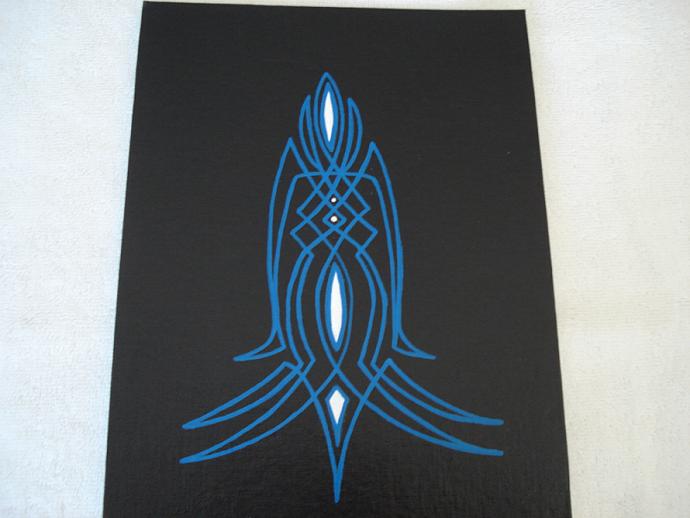 Pinstripe Style Panel 8 x 10 # 8