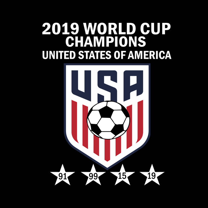 2019 world cup champions united states of america USA svg, png, dxf,eps file for