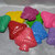 Recycled Crayons Mushroom Shaped Total of 9.  Boy or Girl Kids Unique Party