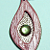 Peridot/Oak/Leather Necklace