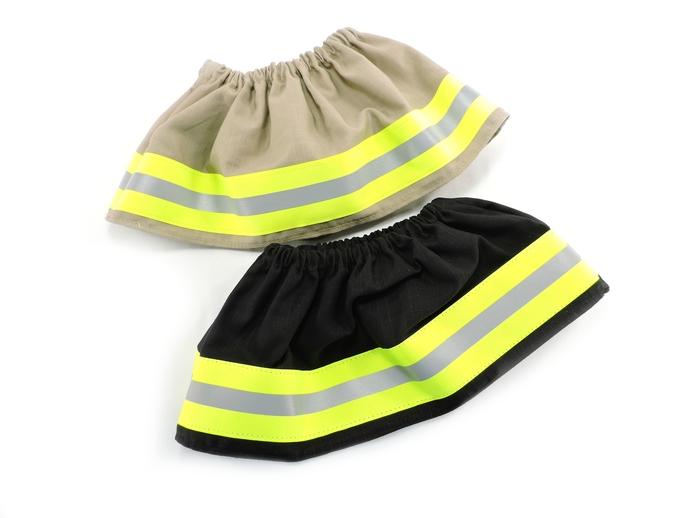 Firefighter Baby or Toddler Girl Wide Skirt, Halloween Costume, Bunker Turnout