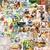 Childhood Memories Themed Paper Vintage Ephemera, Collage Pack, Art Journals,