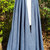 Navy Blue Long Cloak - Full Circle Microsuede Medieval Renaissance Cape with