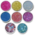 Eco Shine - Set of 8 Biodegradable Glitters - 15ml size
