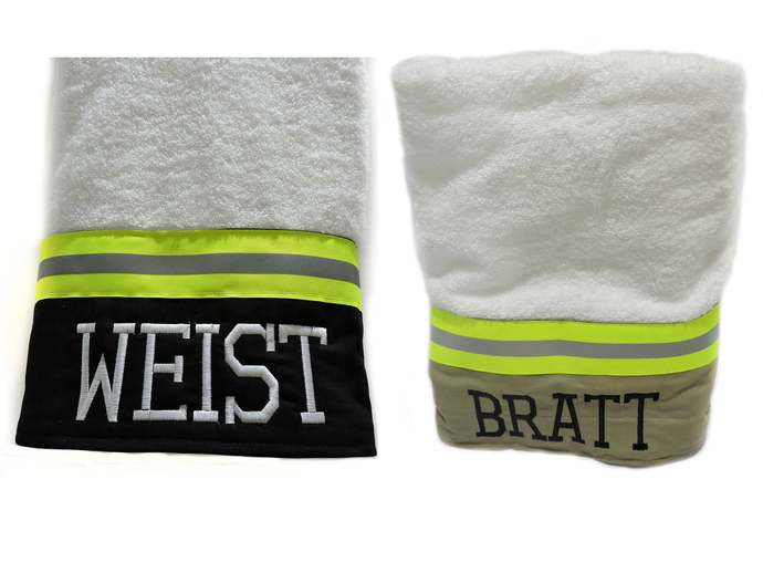 Firefighter Personalized Bath towel, Firefighter gift, Graduation gift, fire