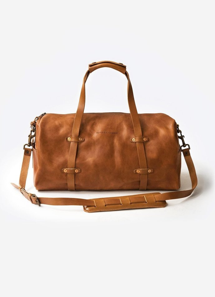 Handmade Authentic Leather The Weekender