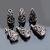 925 Sterling Silver Handmade Antique Oxidized Strand Reducer Cone Beads