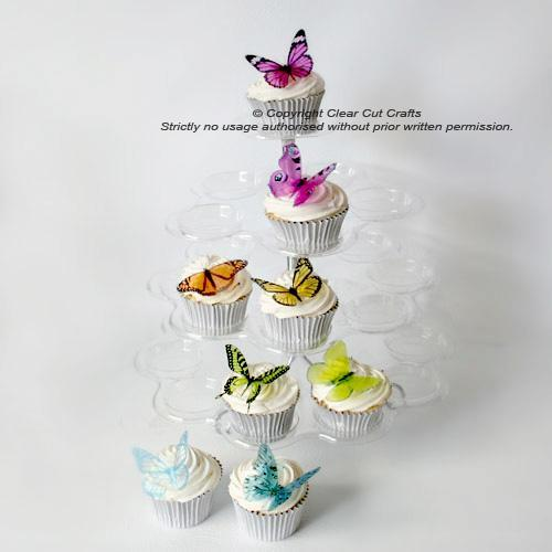 30 Butterflies for a Martha Stewart Replica Cake for Weddings, Parties & More