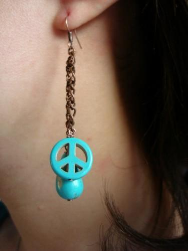 Turquoise Drops of Peace