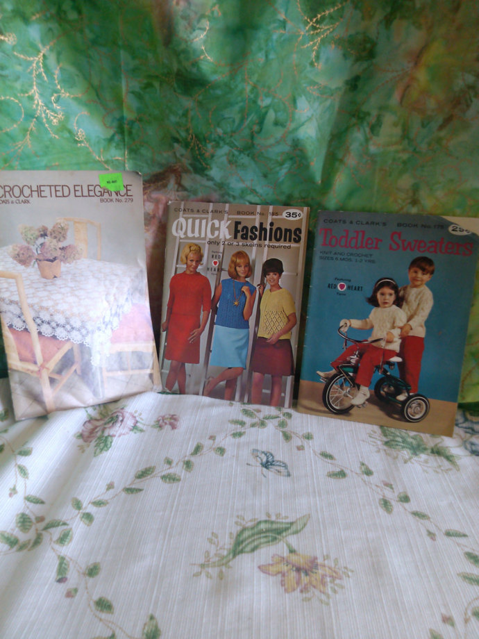 Coats & Clark's Toddler Sweaters,Quick Fashions and Crocheted Elegance