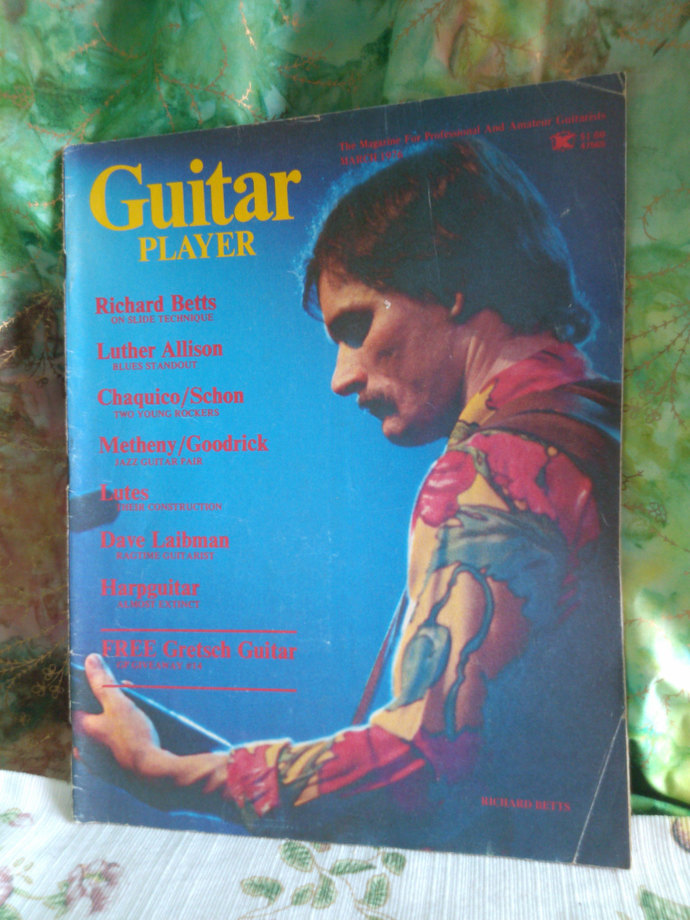 Guitar Player Magazine from March 1976
