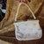 Vintage Floral Lemured Corde Bead Handbag