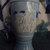 Blue Milkglass Jim Beam Socrates Decanter