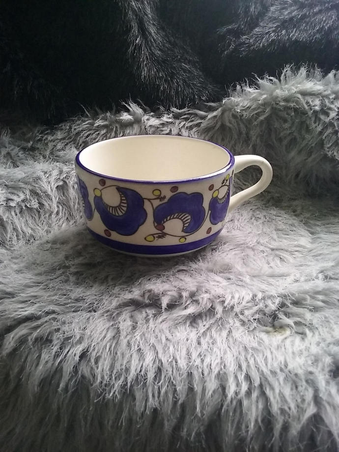 Buffalo Pottery Blue Mug