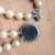 Double Strand Japan Made Faux Pearl Necklace