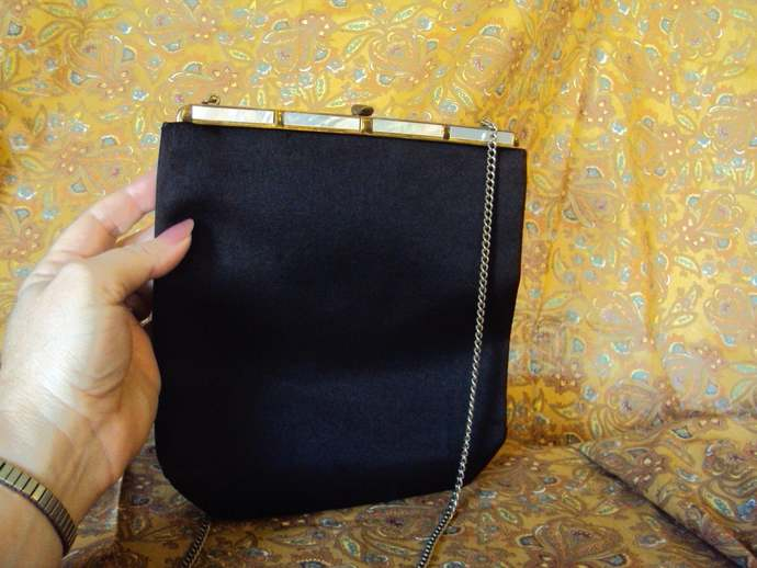 Antique 1950's L and M Evening Bag