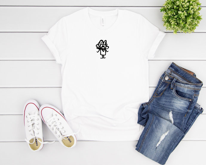 Anime Girl Back To School Shirt Gift for First Day of School to Daughter