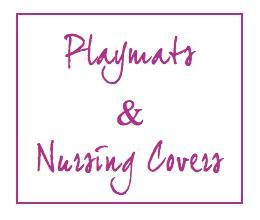 Custom Playmat or Nursing Cover