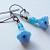 Baby Blue Flowers Earrings