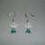 Beaded Pierced Earrings - Green Angel - Fashion Jewelry