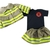 Future Firefighter Baby Girl Outfit & Jacket, Fireman Baby shower gift, Coming