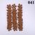 36 Bumpy Brown Vinyl Die Cut Flowers