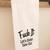Flour Sack Towel, Fuck It Let's Order Take Out, Tea Towel, Swear Word Lover,