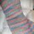 Crochet Prayer Shawl Wrap - Painted Desert - Super Soft Lion Brand Homespun Yarn