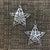 Filigree Star Earrings