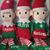 Personalized stuffed elf, stocking stuffer, persoanlized gift, boy elf, girl
