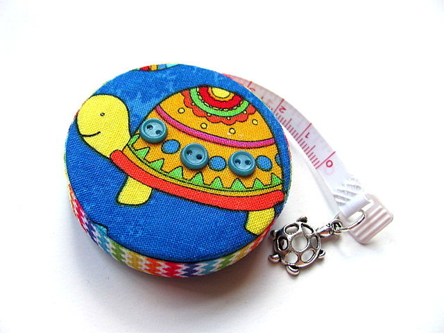Tape Measure with Rainbow Turtles Retractable Measuring Tape