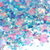 Sweetie Pie - Loose Iridescent Chunky Glitter Mix In Blue, Pink, Purple & Teal