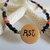 Cherokee Language Grandfather Necklace, Corn Bead Jewelry, Baby Reveal