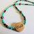Cherokee Language Tsalagi Pride Necklace, Corn Bead Jewelry