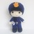 Officer Felton- Handmade Crochet Plushie Toy/ Decoration