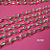 5 feet of Bright Silver Finish Rollo Chain