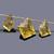 Lemon Quartz Faceted Carved Fancy Shape drilled Flawless Loose Gemstone Beads