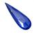 Natural Lapis Lazuli Faceted Pear 60x20x4 Semi Precious Loose Gemstone