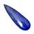 Natural Lapis Lazuli Faceted Pear 57x18x4 Semi Precious Loose Gemstone