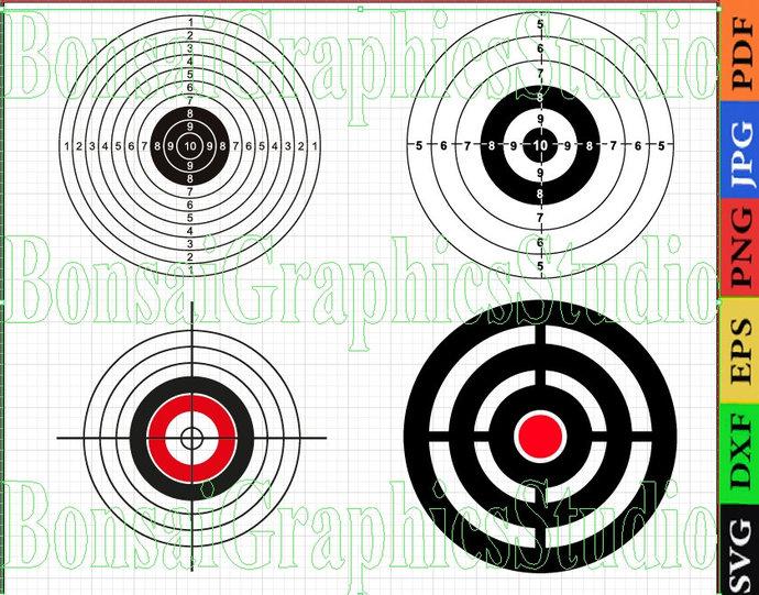 Target Aim, archery target svg, crosshair svg, bullseye svg, shirt print target,