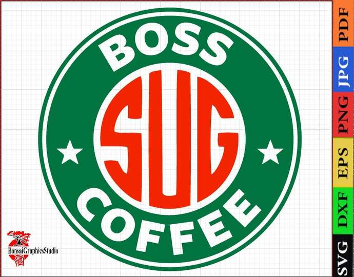 I am the boss, a gift to the boss, I love coffee