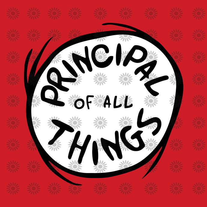 Principal of All Things SVG,Dr. Seuss sayings quotes, Cat in hat, Lorax, Thing