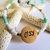 Cherokee Language Hope Necklace, Corn Bead Jewelry