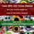 Wide Dark Green Dragon Glass Eyes - Pick Your Size - Jewelry Making Art Dolls