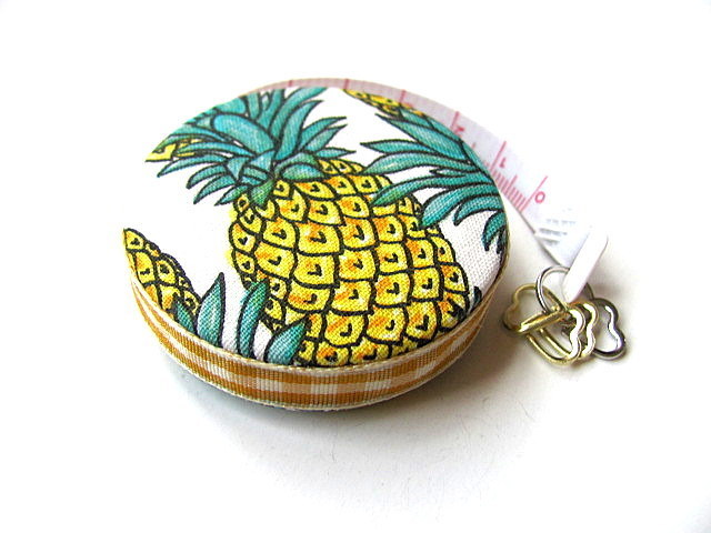 Tape Measure Pineapples Small Retractable Measuring Tape