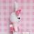 Bonnie Bunny- Handmade Crochet Plushie Toy/ Decoration