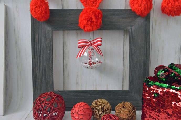 Keepsake Ornament, Custom Christmas Ornament, Christmas Decorations