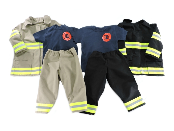 Firefighter Toddler Outfit, Turnout Jacket, Future Firefighter Birthday Gift,